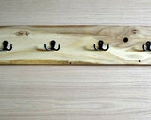 ON SALE - White Oak Row of Hooks