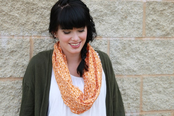 Cotton inifinity scarf