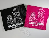 Mario His and Hers Game Over T-shirts PAIR