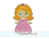 Princess Sophie MINI FILLED 4x4 Machine Embroidery Design