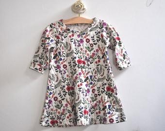 Little Girl's Liberty Jersey Dress - 6-12 Months