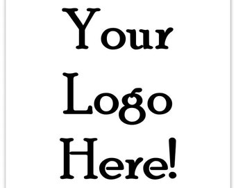 Custom Logo Stickers or Business Labels - TWO INCH square - Get 100 MATTE square labels - 2 inch x 2 inch, Your Business, Etsy Shop stickers