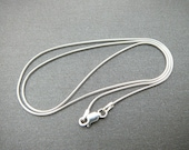 Sterling Silver 1 mm Snake Chain