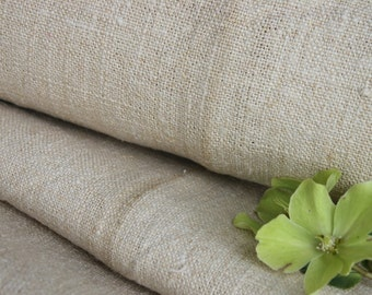 C 822 antique handloomed PALE CREAMY 13.44 yards upholstery fabric 22.04  wide elegant and classy