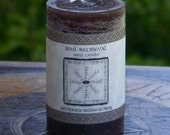 SOUL RETRIEVAL Signature Spell Candle by Witchcrafts Artisan Alchemy for Shaman Ritual to Reconnect Lost Soul Fragments
