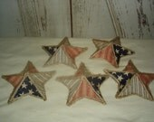 Americana Fabric Covered Paper Mache Star Bowl Fillers, Stars, Americana, July 4, Summer, SCOFG, Ofg, Faap, Hafair