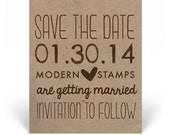 Custom Wedding Stamp - Save the Date Stamp - Custom Stamp - Custom Rubber Stamp - Personalized Stamp - Save the Date - D12