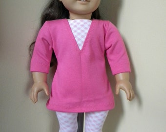 leggings and tunic for 18 inch doll