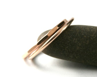 Gold Stack Rings, Stack Bands, Rose Gold Filled Rings, Custom Stack Rings, Stack Rings, Band Ring, Midi Rings