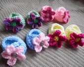 Infant Mary Janes with 3 Pair Changeable Flower Accents