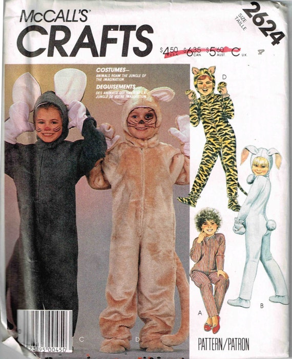 Child Animal Costume Mouse Tiger Cat Rabbit Jumper Halloween  sc 1 st  Meningrey & Toddler Cat Costume Pattern - Meningrey