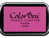 Colorbox Pigment ink Pad--Orchid Pink
