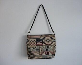 VINTAGE southwestern style SHOULDER BAG