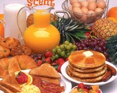 SUNDAY BRUNCH Scented Soy Wax Melts - Breakfast - Lunch - Food - Soy Candle Tarts - Highly Scented - Hand Made And Poured In USA
