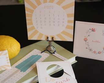 Subscription Based Stationary Products-invitations-greeting cards-drink tags-notepads-calendar