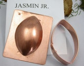 Jasmin Jr, Gisha, Utopia and Verdana copper domes and cutters for designers