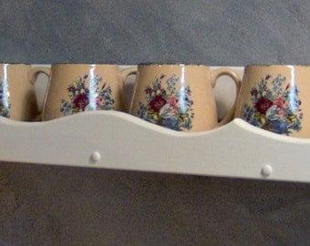 WT701 Wood Single Level Shelf for Books Heirlooms Tea Spices JLJ Orig Design