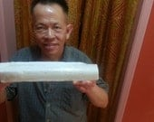 Very Large Selenite Crystal Log, Metaphysical Supplies, Model Not Included