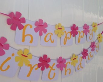 Happy Birthday Party Banner - Ready to Ship