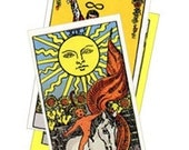 32 Page basic guide to reading tarot cards: Major and Minor Arcana. With pictures