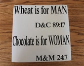 Special order for Lisa wheat is for man
