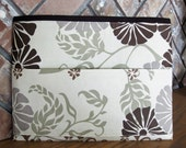 Brown and Beige Tract and Magazine Holder, Organizer