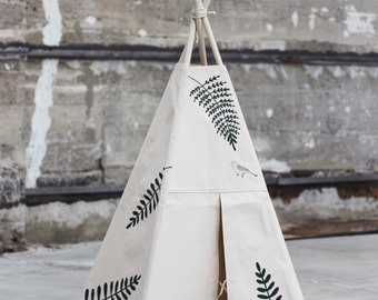 Fern indoor canvas teepee poles not include