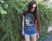 Unloveable Ophelia Shirt - Black Unisex Tee  - Art by Yelley