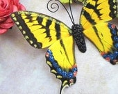 Butterfly Embellishments Sunshine