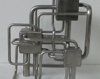 Pump Station3 Metal Sculpture Series