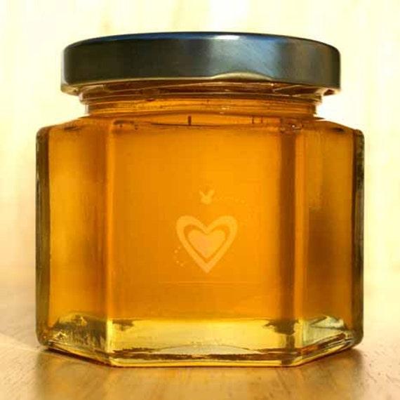 Large Raw Honey Wedding Favors 12 Honey Jar Favors For