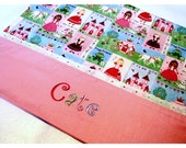 Girls Pillowcase Personalized Custom Embroidered