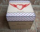 Wooden Memory Keepsake Box