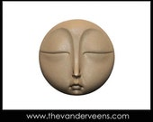 Mold No.186 (flater Full moon face-Closeed eyes) by Veronica  Jeong