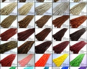 Color Reference Chart for Iconic Locks Dreadlock extensions, dreadlocks, dreads, dread extensions, synthetic dreads, extensions, One dread