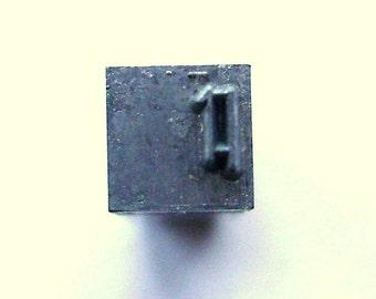 Japanese Stamp - Vintage Japanese Typewriter Key - Kanji Stamp - Metal Stamp - Chinese Character - Mouth