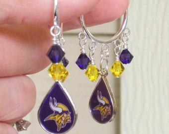 Green Bay Packers Earrings Gb Packers Bling Green By