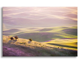 Nature Photo on Canvas, Landscape Fine Art Photograph on Gallery Wrapped Canvas, Large Wall Art, Home Decor