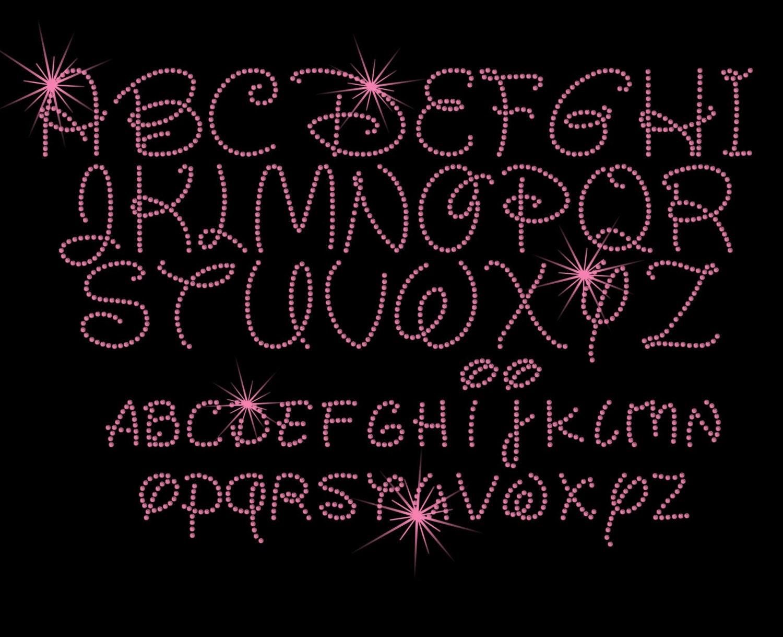Big Iron Font 1.7 Disney Font Iron on Name
