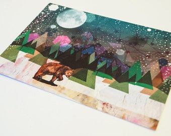 Alone Postcard