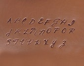 Fornax UP/LW Combo Alphabet Letter Set Jewelry Stamping The Urban Beader