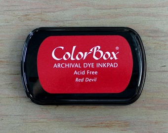 Ink Pad // COLORBOX // Archival ink -- 25 colors