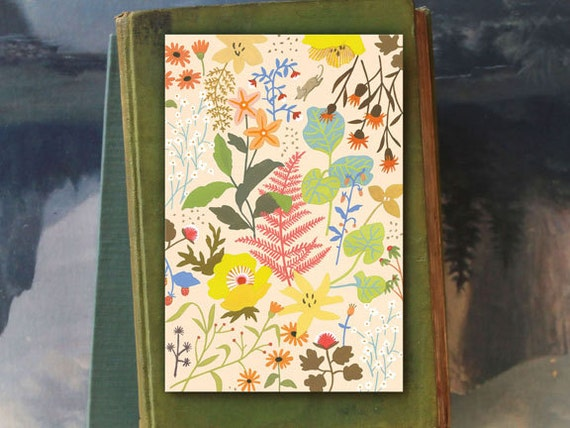 Bridgette Wildflower // 6 Card Folio // Fawnsberg Stationery