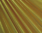 Gold / Gold Mystique Spandex Fabric