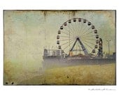 Seaside Amusement Park, Seaside Heights NJ, Pier,fine art photograph, roller coaster, boardwalk, jersey shore, ocea