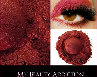 Red Mineral Eye Shadow-Red HOT