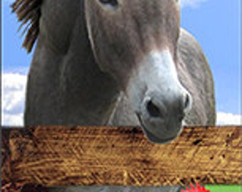 Donkey With Friends Bookmark