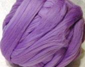 Merino Wool Roving - Lilac - 8oz
