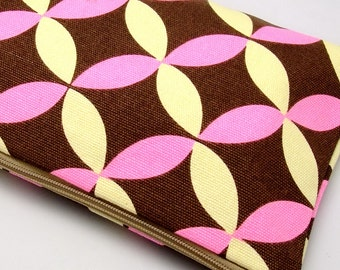 Large Zipper Pouch, Pencil Pouch, Gadget Bag, Cosmetic Bag, Beautiful pattern (ZL-12)