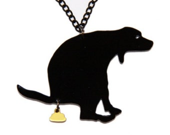 The funniest necklace for doglovers!